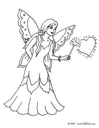 Fairy Magic Flying Wand To Color