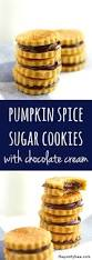 Bisquick Pumpkin Chocolate Chip Muffins by Pumpkin Spice Sugar Cookies With Chocolate Cream The Pretty Bee