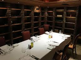old church turned into a wine cellar with 10 person private dining