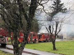 100 Fire Trucks Unlimited In Ridgefield Destroys Garage Multiple Vehicles The Columbian