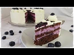 fruchtige heidelbeer joghurt torte blaubeer torte mit