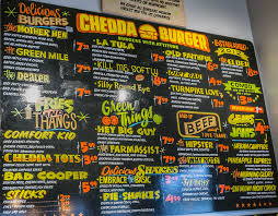Chedda Burger Menu | SLC Menu How To Start A Food Truck Business Trucks Truck Review The New Chuck Wagon Fresh Fixins At Fort 19 Essential In Austin Bleu Garten Roxys Grilled Cheese Brick And Mortar Au Naturel Juice Smoothie Bar Menu Urbanspoonzomato Qa Chebogz Seattlefoodtruckcom To Write A Plan Top 30 Free Restaurant Psd Templates 2018 Colorlib Coits Home Oklahoma City Prices C3 Cafe Dream Our Carytown Burgers Fries Richmond Va