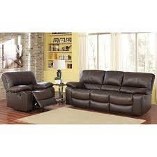 riley top grain leather sofa and recliner bundle sam s club