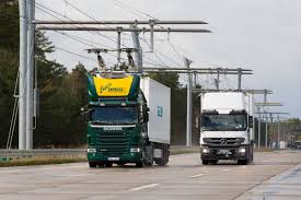 Siemens Builds EHighway For Hybrid Trucks In Germany - Highways Today