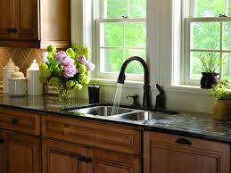 Moen Kitchen Faucet Leaking From Neck by Kitchen Beautiful Color To Install Your Kitchen Sink With Bronze