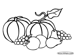 Home Coloring Pages Fall Corn Harvest Pic