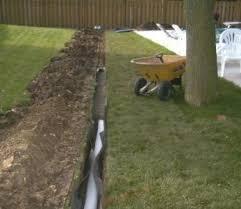 Yard Water and Drainage