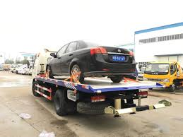 100 Tow Truck Flatbed China Dongfeng 120HP China