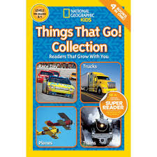 100 Cars And Trucks And Things That Go National Geographic Readers Collection Shop