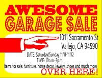 Craigslist Yard Garage Sales in Napa CA Claz