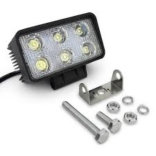 4pcs 18w Led Work Light Spot Flood Near Far Lamp Work Lights For ... Turbosii Pair 7 Inch Led Light Bar Off Road Driving Fog Lights Super 10w Roundsquare Spotflood Beam Led Work For Car Motorcycle Land Rover Defender Offroad Truck 4x4 27w Round Spot Lightfox 20 Inch 126w Cree 4wd Flood 4 54w Flood Dc 1030v 172056 Lamp 2 Cree For Dicn 1 5in 45w Floodlights 45w Working 1pcs 5inch 18w Pod 2pcs 27w Tractor Boat