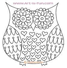 Drawing A Cute Owl