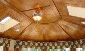 tongue groove wood ceiling panels top attaching to laminate planks