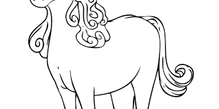 Cute Unicorn Coloring Pages Color Baby