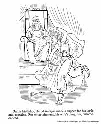 John The Baptist Coloring Pages 1