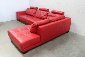 100 Roche Bobois Leather Sofa Pristine Huge Guarana LShape Sectional