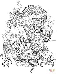 Click The Chinese Dragon Coloring Pages