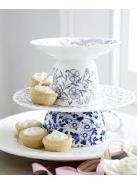 Teacup Cake Stand I Think This Would Be Perfect For Small Tarts And Fairy Cakes