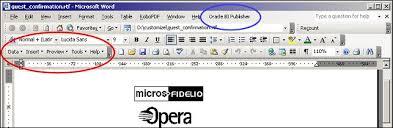 Micros Opera Help Desk by Opera Hotel Edition