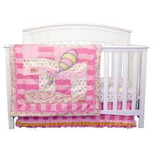 Jcpenney Crib Bedding by Amazon Com Trend Lab Baby Nursery Room Dr Seuss Pink Oh