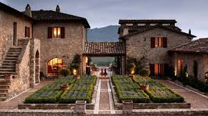 The Luxury Estate Of Castello Di Reschio In Umbria Italy Has Been Restored From Secluded