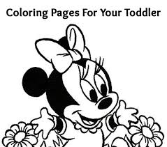 Minnie Mouse Coloring Page Top 25 Free Printable Cute Pages Online Sheets