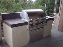 Outdoor Kitchens Colorado Springs Built In Barbecue