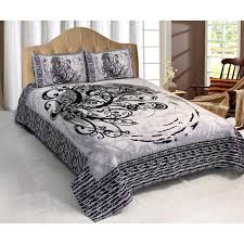 Bed Cover Sets by Combo Of Expressions Double Bed Cover U0026 Bed Sheet Sets