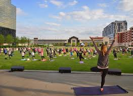 Nancy Alkire Enjoy The Weather With Outdoor Yoga