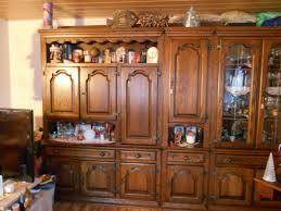sehr schöne schwere echtholz wohnzimmer schrankwand eur 1