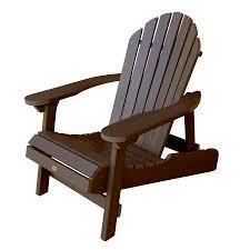 Lowes Canada Adirondack Chairs by Shop Highwood Usa Hamilton Weathered Acorn Plastic Folding Patio