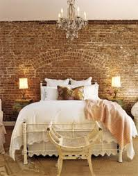 Bedroom With Rustic Style Vintage Wall Decor