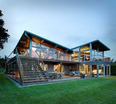 100 Glass House Architecture Earthy Timber Clad Interiors Vs Urban Exteriors