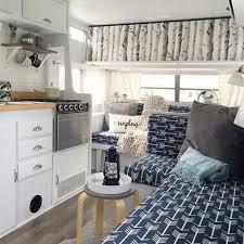 Cool 51 Best Hacks And Makeover RV Camper Van Interior Design Homearchitectur