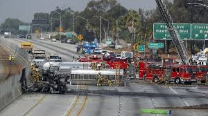 All Westbound Lanes Reopened On 105 Freeway After Fatal Early ... Truck Accident Attorney Peck Law Group Los Angeles Car Lawyer Malpractice Pedestrian Free Csultation Today Uber Cstruction David Azi Call 247 Delivery Van Or Should Californias Drivers Undergo Mandatory Sleep Apnea Need A Auto Ca Personal Injury Jy Firm Metro Bus In