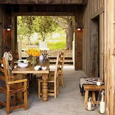 Rustic Dining Room Decorations by Bring Natural Scheme Into Home Decorations With Rustic Ideas Abpho