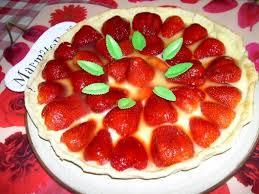 dessert aux fraises facile photo 2 de recette tarte aux fraises facile marmiton