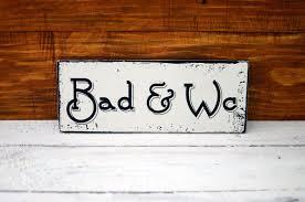 shabby chic schild vintage nostalgie wandschild bad und wc