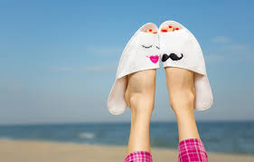 Photo Wallpaper Sea Beach Summer Stay Feet