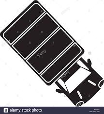 100 Truck Top Silhouette Truck Top View Parking Lot Stock Vector Art