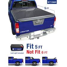 Nissan Frontier Bed Cover by Tyger Auto Tg Bc3n1028 Tri Fold Pickup Tonneau Bed Cover Fits 2005