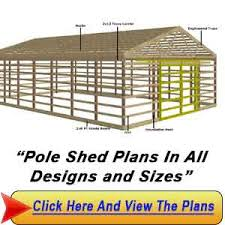 How To Make A Shed Plans by 24 36 Pole Shed Plans U2013 How To Make A Durable Pole Shed