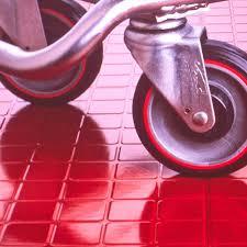 Rubber Flooring Rolls Or Interlocking Tiles