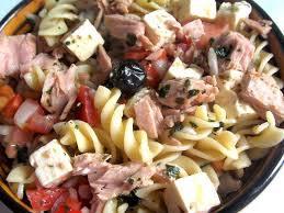 recettes de salade de pate et algérie