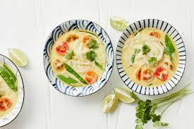 thai curry suppe mit glasnudeln