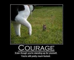Awesome Courage Memes Inspirational Posters For Workplace Motivational Poster