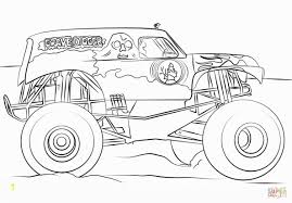 Printable Coloring Pages Monster Truck | Zabelyesayan.com