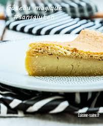 cuisine sans lait gâteau magique sans gluten ni lait cuisine saine sans