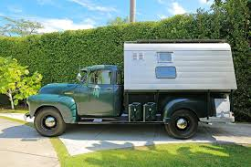 100 Pickup Truck Camper Steve McQueens 1952 Chevrolet Pick Up Being Auctioned
