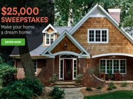 Homes and Gardens $25 000 Sweepstakes